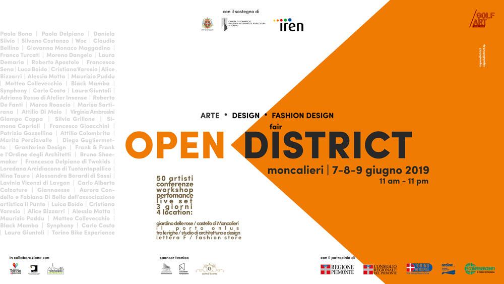 OPEN DISTRICT – FASHION ART & DESIGN 2019